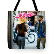 Waiting On Decatur Street-nola Tote Bag