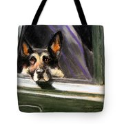 Waiting Patiently Tote Bag