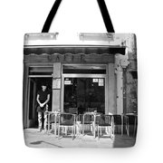 Waiting Tables Tote Bag