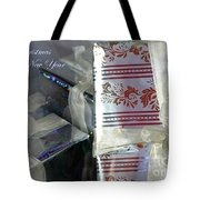 Waiting To Be Opened Tote Bag