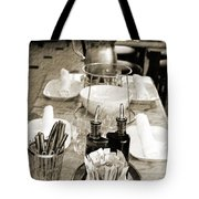 Waiting To Entertain Tote Bag