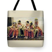 Waiting To Preform Tote Bag