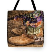 Waiting To Ride Tote Bag