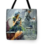 Waiting With Hope Tote Bag