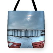 Waiting...impatiently... Tote Bag
