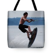 Wakeboarder Tote Bag