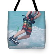 Wakeboarding Style Tote Bag