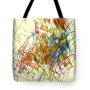 Wakeful Reticence Tote Bag