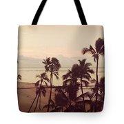 Waking Up On Waikiki Tote Bag