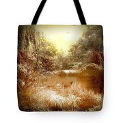 Walden Pond In Pennsylvania Tote Bag