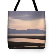 Tranquil Scene On Anglesey Coast Tote Bag