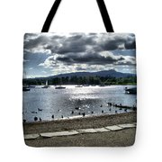 Wales On The Sea Tote Bag