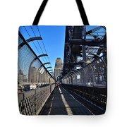 Walk Across Sydney Harbour Bridge Tote Bag
