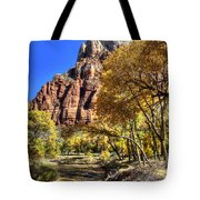 Walk Along The River Tote Bag