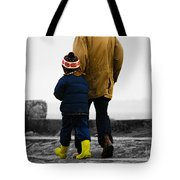 Walk Alongside Me Daddy Tote Bag