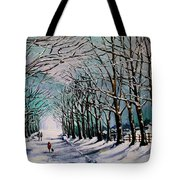 Walk Among The Trees Tote Bag by Vickie Warner