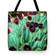 Walk Among The Tulips Tote Bag