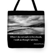 Walk In The Clouds Tote Bag