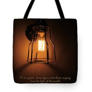 Walk In The Light Tote Bag