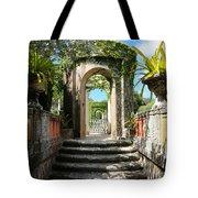 Walk In Vizcaya Gardens Tote Bag