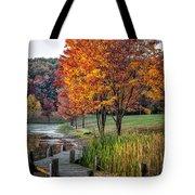 Walk Into Fall Tote Bag