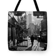 Walk Manhattan 1980s Tote Bag