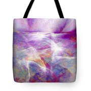 Walk On Water - Abstract Art Tote Bag by Jaison Cianelli