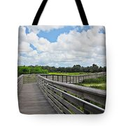 Walk On Wetlands Tote Bag