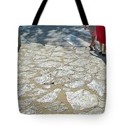Walk Slowly Grandma Tote Bag