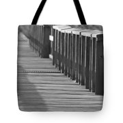 Walk To The Dock Tote Bag