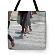 Walk To The Right Tote Bag