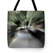 Walk Warp Tote Bag