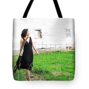 Walk With Hope In Your Heart Tote Bag