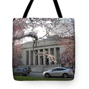 Walker Memorial Early Spring Tote Bag