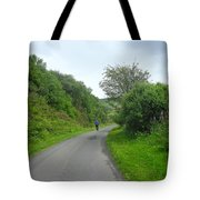 Walking A Lonely Road Tote Bag
