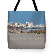 Walking Along Cocoa Beach Tote Bag