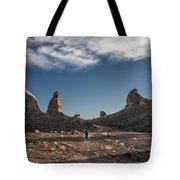 Walking Among Giants Tote Bag