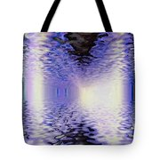 Walking Between Water Tote Bag