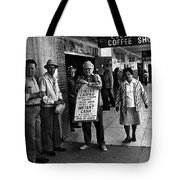 Walking Billboard Nevada Club Reno Nevada 1977 Tote Bag