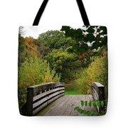 Walking Bridge Tote Bag