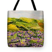 Walking Hills Tote Bag