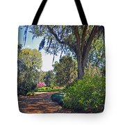 Walking In A Garden Tote Bag