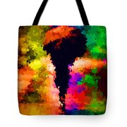 Walking In The Rain Tote Bag