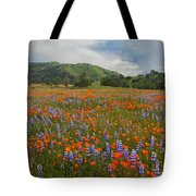 Walking In The Wildflowers Tote Bag