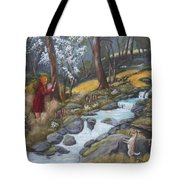 Walking In The Woods One Day Tote Bag