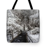 Walking Into The Infrared Jungle 1 Tote Bag