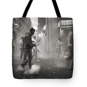 Walking On Clouds In Valencia Tote Bag