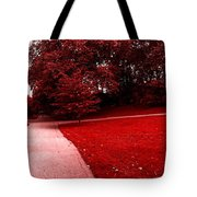 Walking On Mars Tote Bag