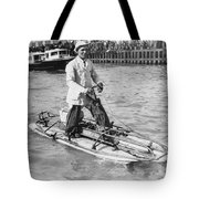 Walking On San Francisco Bay Tote Bag