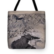 Walking On The Moon Tote Bag